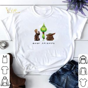 Baby Friends Baby Yoda Baby Grinch And Baby Groot shirt sweater