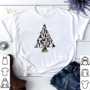 Christmas tree Doctor Who shirt