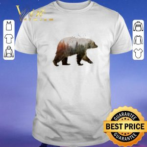 Funny Camping bear nature trees shirt sweater