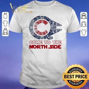 Funny Come To The North Side Star Wars Chicago Cubs Millennium Falcon shirt sweater