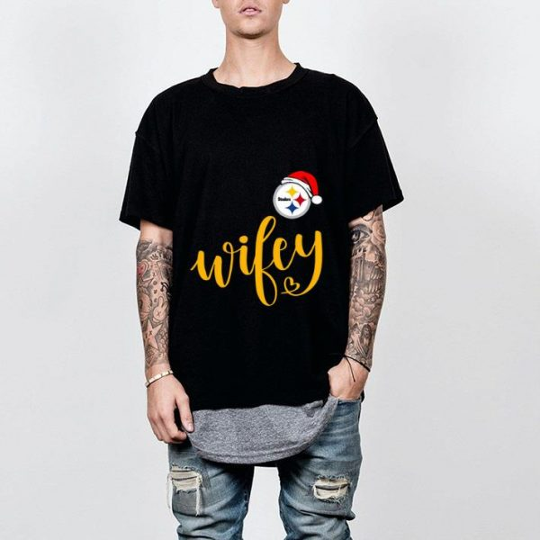 Great Santa Pittsburgh Steelers Wifey shirt