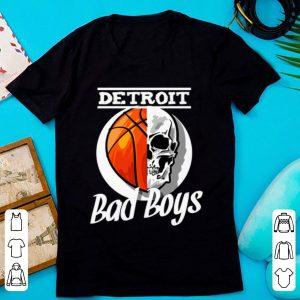Great Skull Basketball Detroit Bad Boys shirt