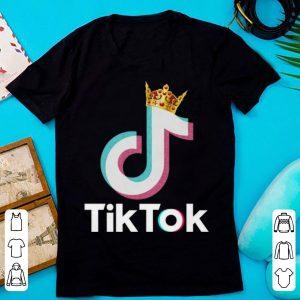Great Tok-tik Dance Music DJ Christmas Crownd shirt