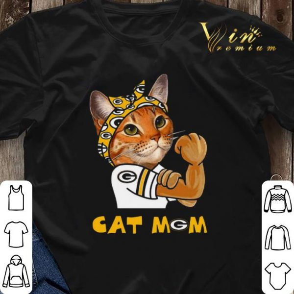 Green Bay Packers Strong Cat Mom shirt