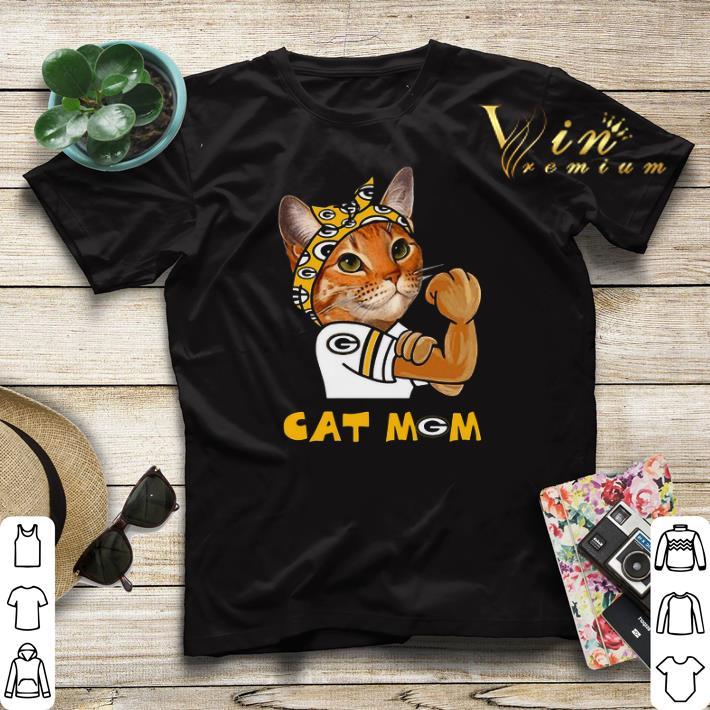 Green Bay Packers Strong Cat Mom shirt 4 - Green Bay Packers Strong Cat Mom shirt