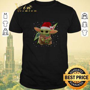 Hot Baby Yoda Hug Mountain Dew Christmas shirt sweater