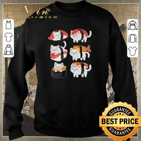 Hot Cats Mashup Sushi shirt sweater