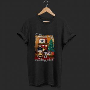 Hot Charlie Brown Dallas Cowboys This Is My Hallmark Christmas Movie shirt
