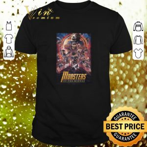Hot Chicago Bears Monsters Of The Midway Avengers Infinity War shirt