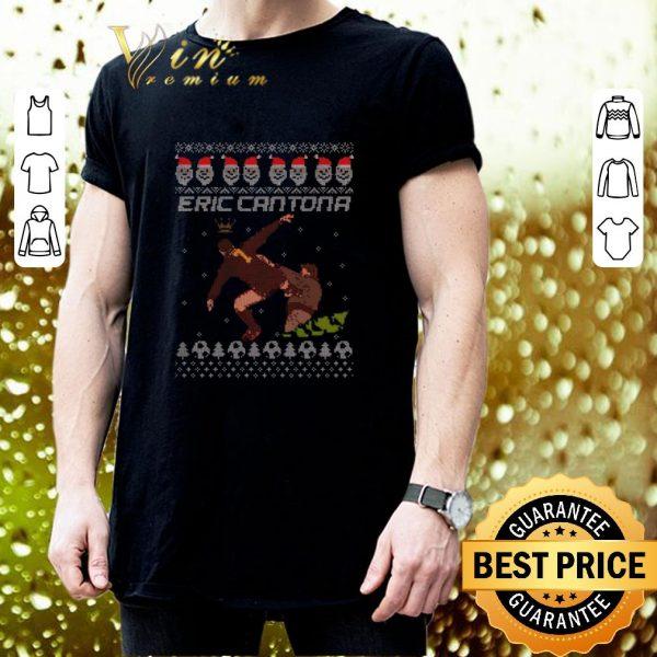 Hot Eric Cantona Kung Fu Ugly Christmas sweater