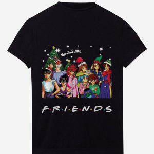 Hot Ghost Fighter Characters Friends Merry Christmas shirt