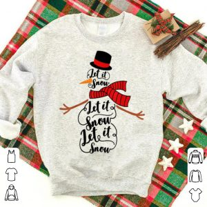 Hot Let it snow merry Christmas family party mom dad party gift sweater