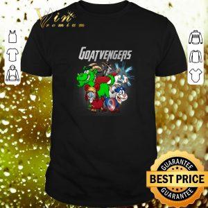 Hot Marvel Avengers Endgame Goat Goatvengers shirt