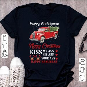 Hot Merry Christmas Kiss My Ass Your Ass Funny sweater