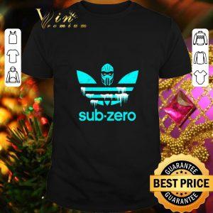 Hot Mortal Kombat sub zero Adidas shirt