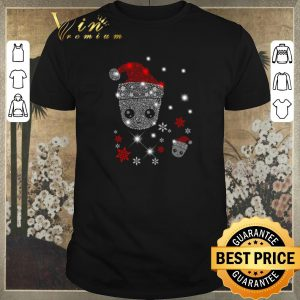Hot Santa Christmas Diamond Baby Groot shirt