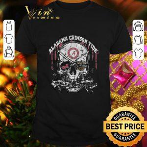 Hot Skull Alabama Crimson Tide Harley-Davidson shirt