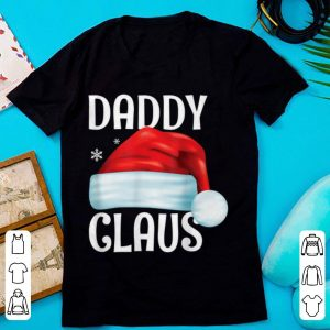 Mens Funny Daddy Claus Christmas Matching Couple Pajama Santa sweater