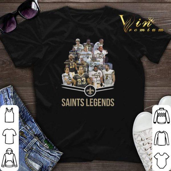 New Orleans Saints Logo Saints legends all signature shirt sweater