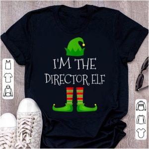 Nice I'm The Director Elf Family Matching Christmas Pajama Gifts sweater