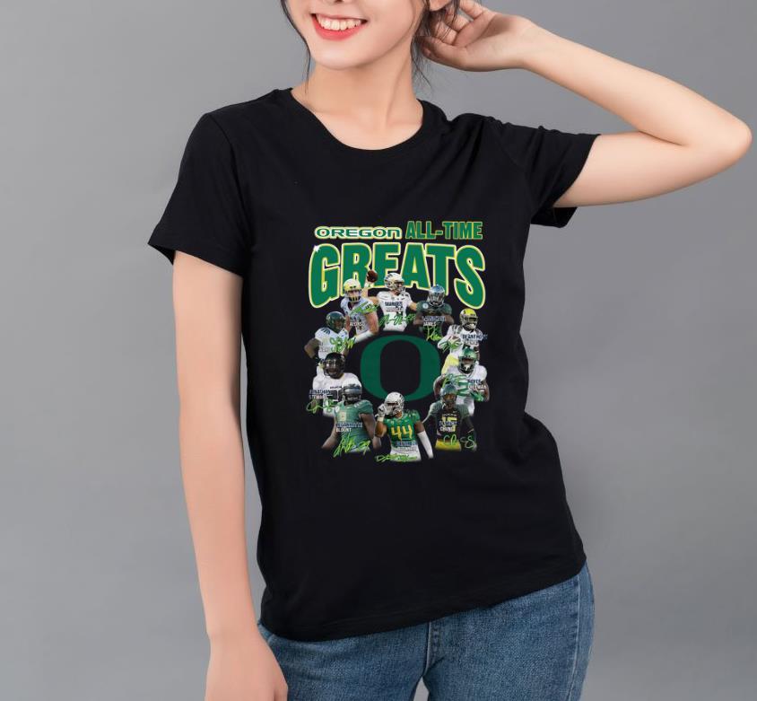 Nice Oregon All time greats signatures shirt 4 - Nice Oregon All-time greats signatures shirt