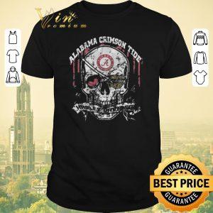 Nice Skull Alabama Crimson Tide Harley-Davidson shirt sweater