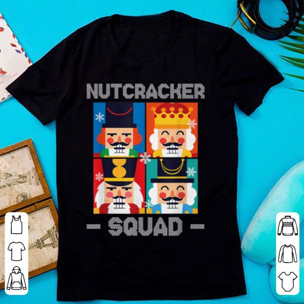 Nutcracker Squad Funny Christmas Holiday Gift sweater