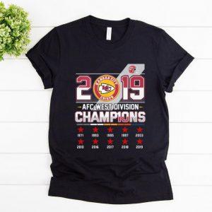 Official 2019 AFC West Division Champions Kansas City Chiefs shirt
