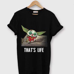Official Baby Yoda Joker Dancing That's Life shirt