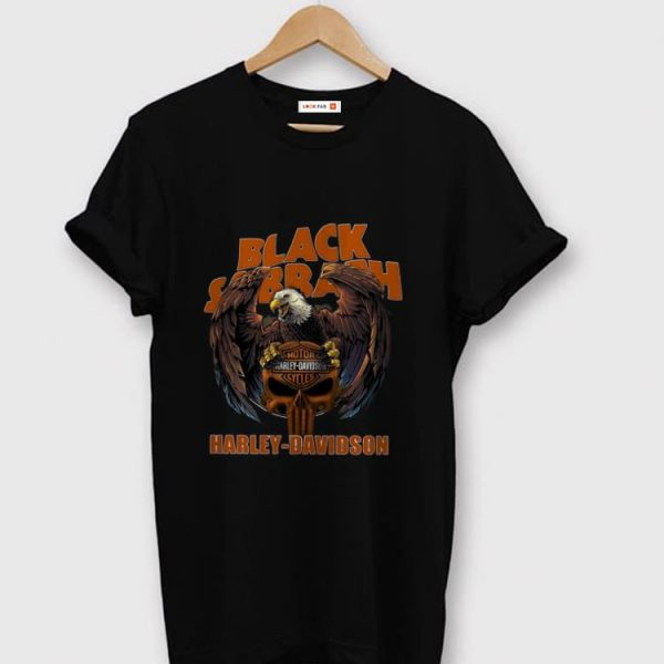 Official Black Sabbath Harley Davidson shirt