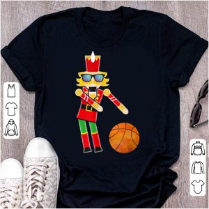 Official Christmas Basketball Flossing Nutcracker Gifts sweater