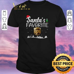 Official Christmas Santa's favorite Ups shirt