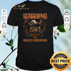 Official Eagle Scorpions Harley Davidson shirt sweater