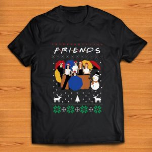 Official Friends Merry Christmas Santa Ugly Christmas shirt