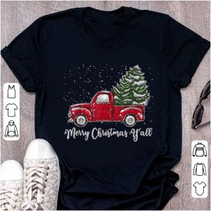 Official Red Truck Christmas - Merry Christmas Yall sweater