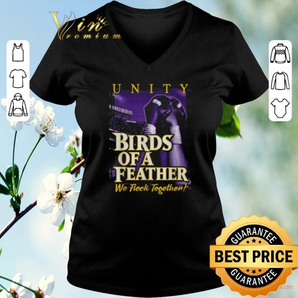 Official Unity Birds of a Feather we flock together shirt sweater