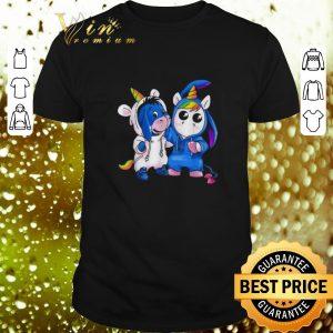 Original Baby Unicorn And Baby Eeyore shirt