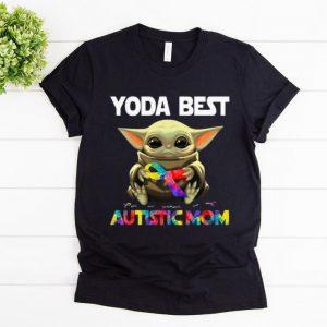 Original Baby Yoda Best Autistic Mom shirt