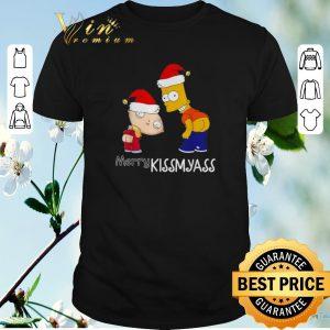 Original Christmas The Simpsons Merry Kissmyass shirt