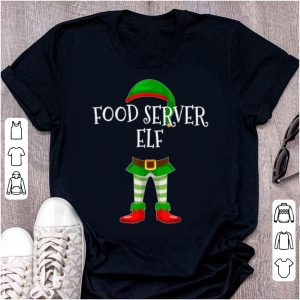 Original Food Server Elf Matching Family Christmas Gift sweater