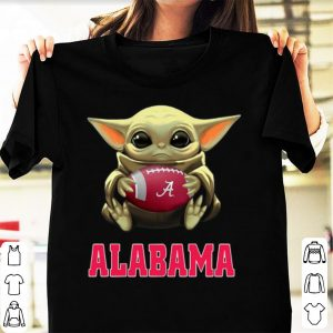 Original Football Baby Yoda Alabama Crimson Tide shirt