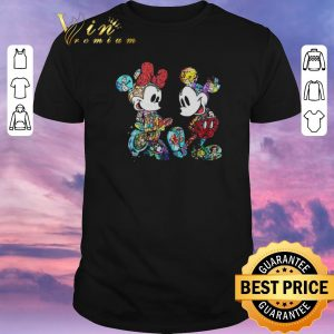 Original Mickey and Minnie Mouse with all Disney characters shirt sweater