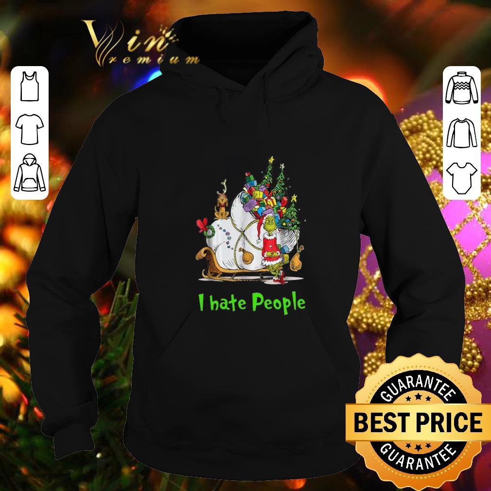 Original Santa Grinch I Hate People Christmas shirt 4 - Original Santa Grinch I Hate People Christmas shirt