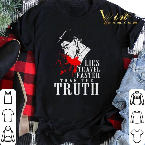 Peaky Blinders Lies travel faster than the truth shirt sweater