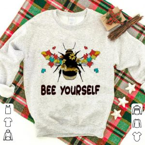 Premium Autism Flower Bee Yourself Autism Awareness shirt