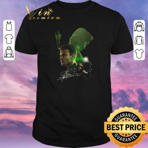 Premium Autographed Stephen Amell signature Arrow shirt sweater