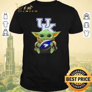 Premium Baby Yoda hug Kentucky Wildcats Star Wars shirt sweater