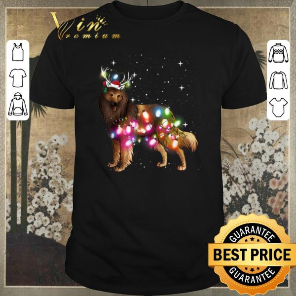 Premium Christmas Lights Belgian Tervuren shirt