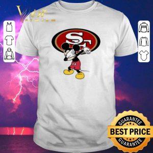 Premium Dabbing Mickey San Francisco 49ers shirt
