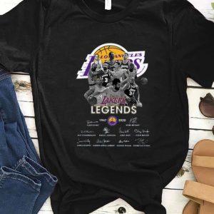 Premium Los Angeles Lakers Legends 1947 2020 Vlade Divac Kobe Bryant Signatures shirt